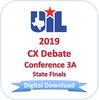 CX Debate 2019 3A Finals