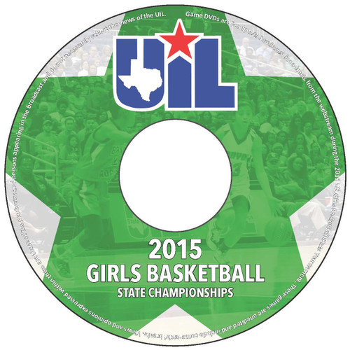 2014-2015 Girl's Basketball Tournament DVD