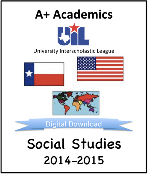 A+ Social Studies Tests from 2014-15