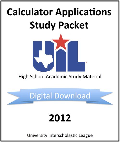 Calculator Applications 2012