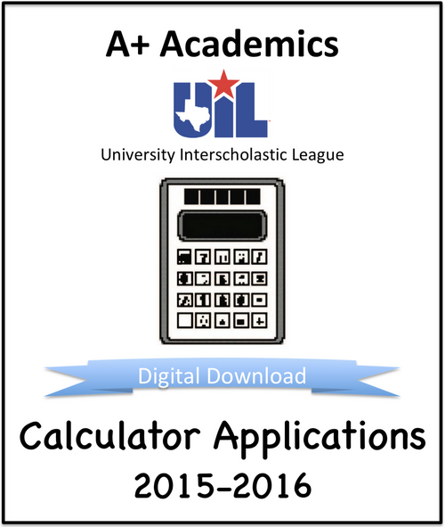 A+ Calculator Tests from 2015-16