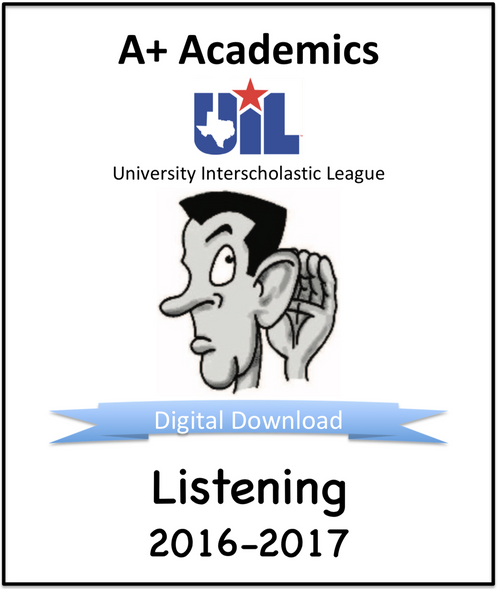 A+ Listening Tests from 2016-17