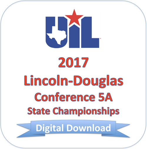 Lincoln-Douglas 2017 5A Finals