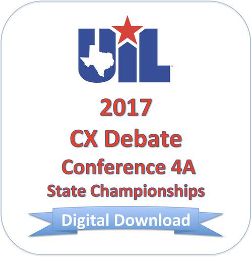 CX Debate 2017 4A Finals