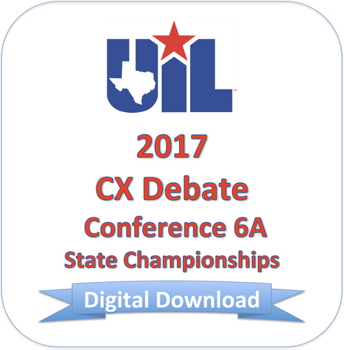 CX Debate 2017 6A Finals