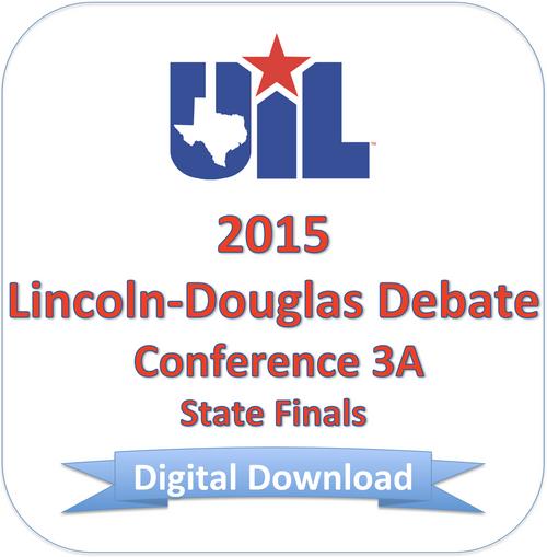 LD Debate 2015 3A Finals