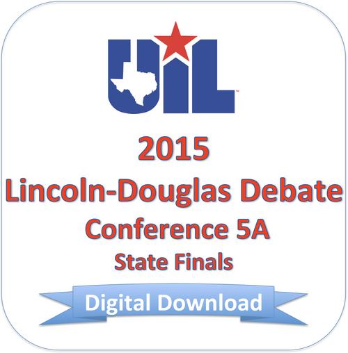 LD Debate 2015 5A Finals