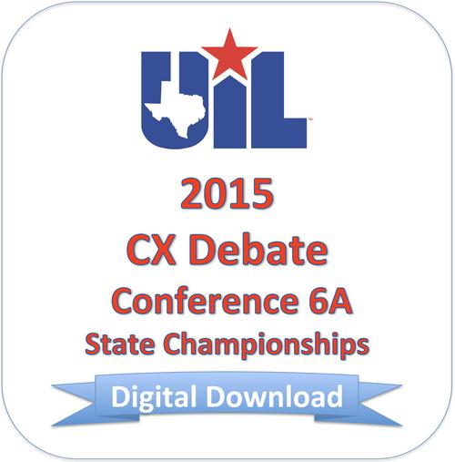 CX Debate 2015 6A Finals