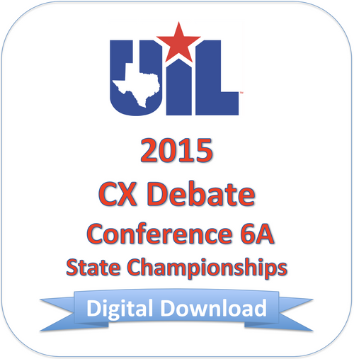 CX Debate 2015 6A Finals