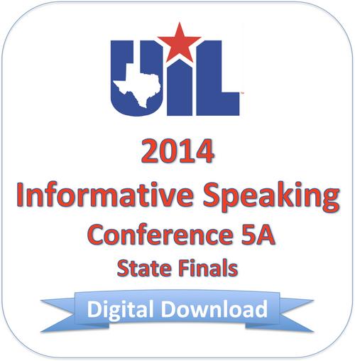 Informative Speaking 2014 5A Finals