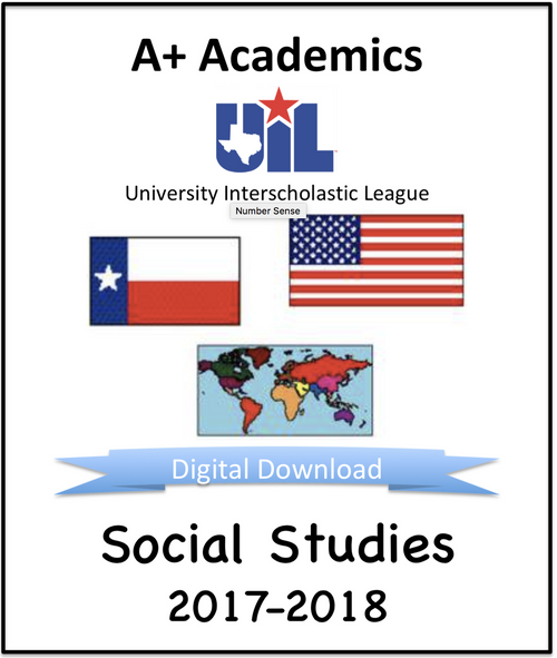 A+ Social Studies Tests from 2017-18