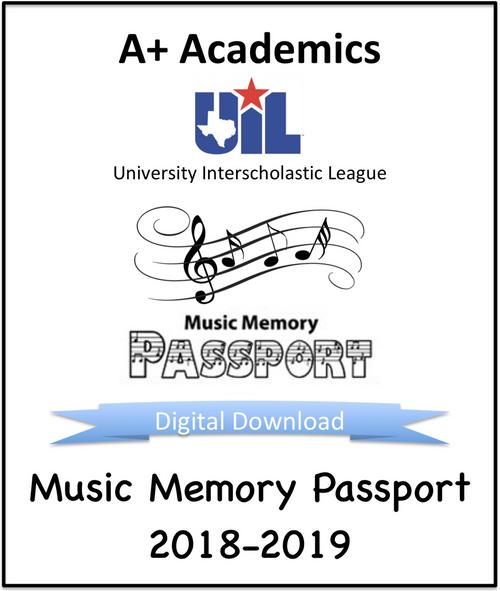 Music Memory Passport 18-19