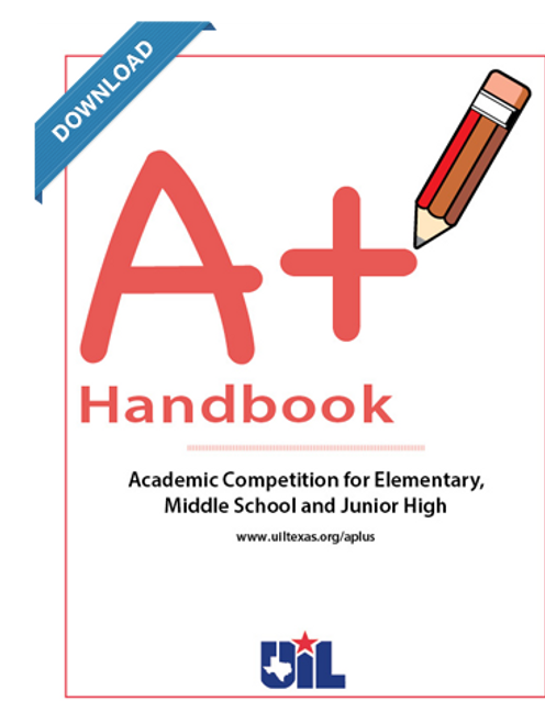 A+ Handbook for Elementary, Middle School and Junior High Contests 2018-19