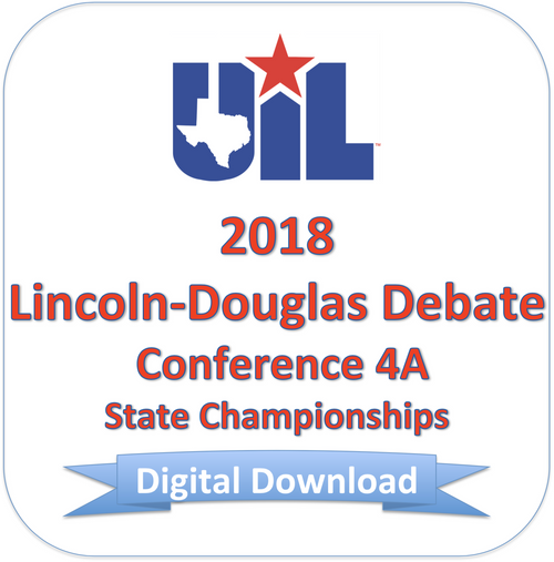 Lincoln-Douglas 2018 4A Finals