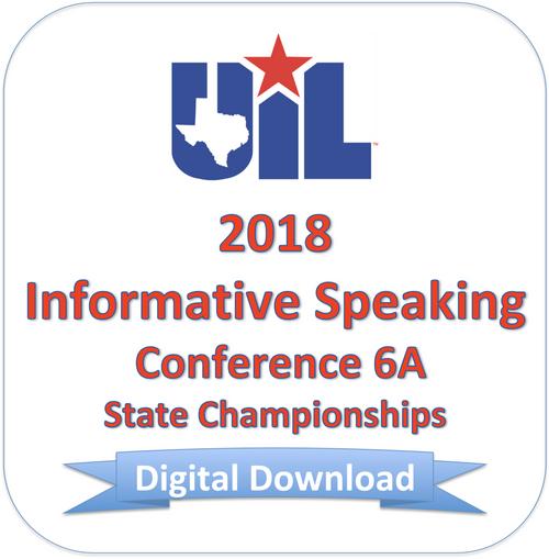 Informative Speaking 2018 6A Finals