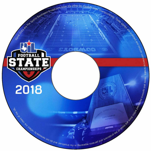 2018-19 Football State Championship DVD