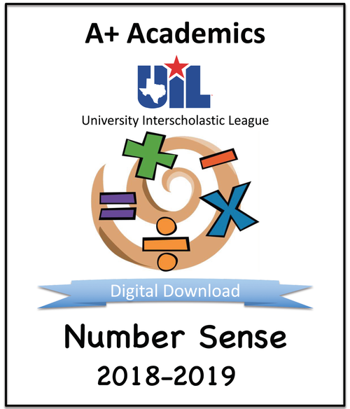 A+ Number Sense Tests from 2018-19