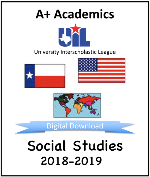 A+ Social Studies Tests from 2018-19