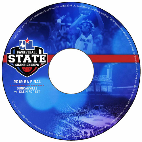 2019 6A Boys Basketball DVD