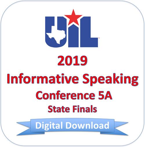Informative Speaking 2019 5A Finals