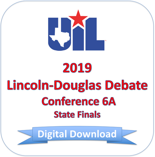 Lincoln-Douglas 2019 6A Finals