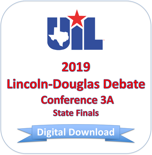 Lincoln-Douglas 2019 3A Finals