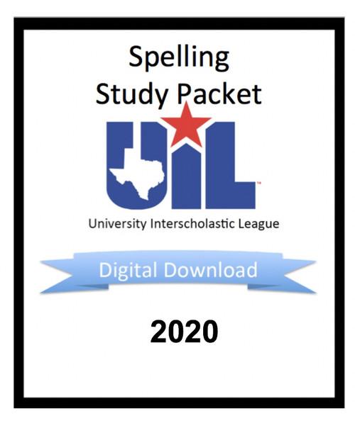 Spelling & Vocabulary 2020