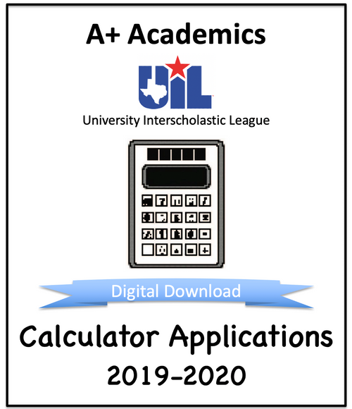 A+ Calculator Tests from 2019-20