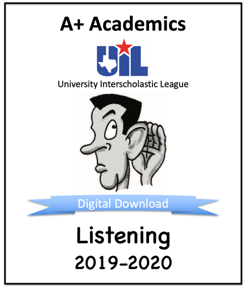 A+ Listening Tests from 2019-20