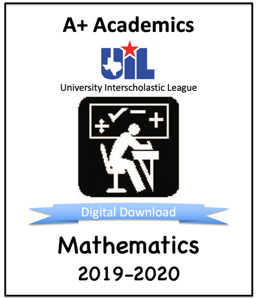 A+ Math Tests from 2019-20