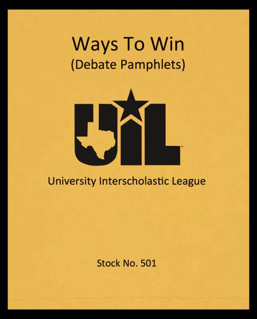 Ways to Win
