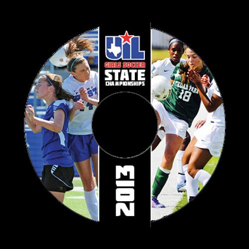 2012-13 Girls Soccer DVD