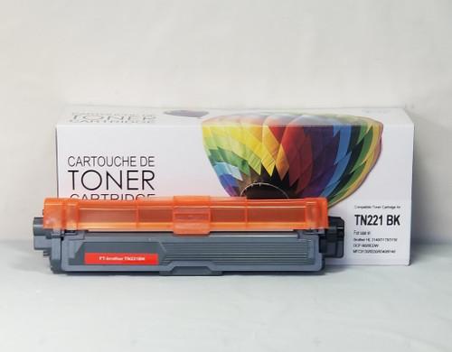 Brother TN221BK Black Compatible Toner Cartridge (TN221BK)