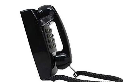 Cortelco 2554 Mini Direct Dial Telephone (With dial pad) - Black (2554miniblack_dial)