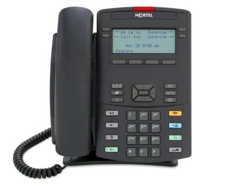 Nortel 1220 IP Desk Phone - Text Buttons (NTYS19AD70E6-N)