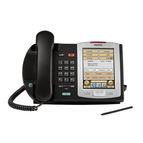 Nortel i2007 Charcoal IP Desk Phone - Refurbished (NTDU96AB70)