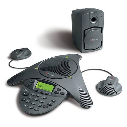 Polycom® SoundStation VTX 1000 Bundle (2200-07142-001) Microphones and Subwoofer