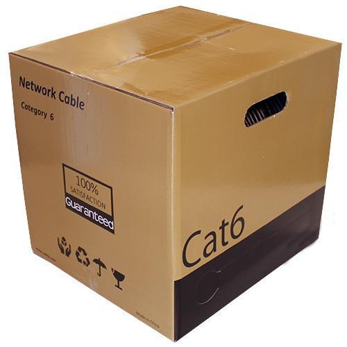 CAT6 UTP 23AWG Direct Burial 305m / 1000 feet - Black