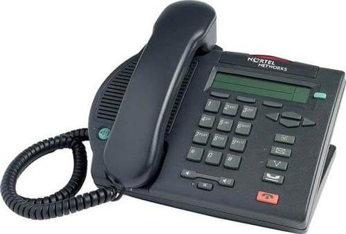 Nortel M3902 Digital Telephone - Black/Charcoal - Refurbished (NTMN32GA)