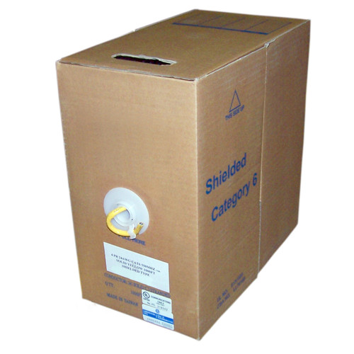 CAT6 FT4 Shielded 1000' Box Cable (CAT6FT4)