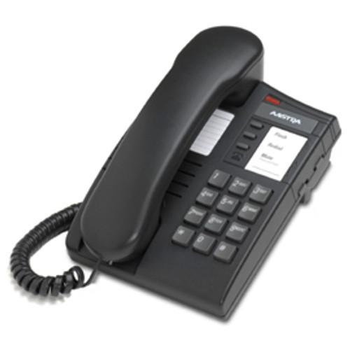 Mitel 8004 Analog Desk Phone - Charcoal - Refurbished ( A1219-0000-1000-R)