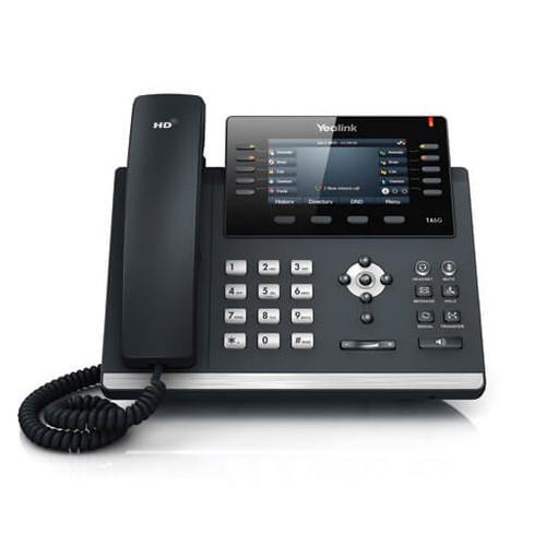Yealink SIP-T46G Ultra-Elegant Gigabit IP Phone (SIP-T46G)
