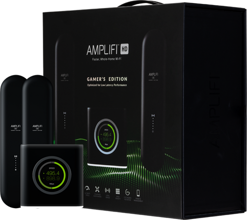Ubiquiti Amplifi Gamers Edition Router and 2 Mesh Points Bundle (AFI-G)