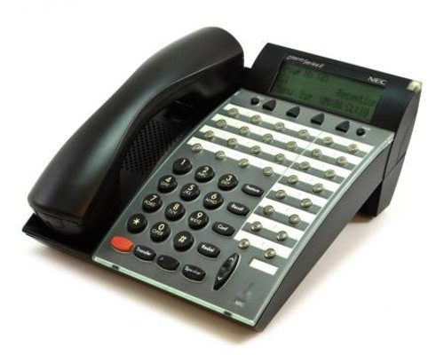NEC DTP-32D-1 Desk Phone - Black - Refurbished (590061)