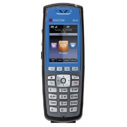 Spectralink 8440 Blue Bundle (Phone / 2 x Battery / Dual Charger) (8440BUN2-BLUE)