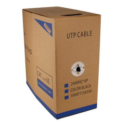 CAT5E STP 26AWG 305m / 1000 feet Box Cable - Yellow (CAT5ESTP26-YL)