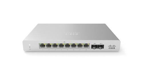 Meraki MS120-8-HW L2 Cloud Managed 8 Port Switch (MS120-8-HW)