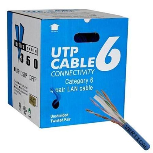 CAT6 UTP 23AWG FT4 305m / 1000 feet Box Cable - White (CAT6BOX-WHITE)