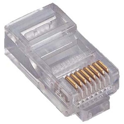 RJ45 CAT5E Modular Plug Connectors - 10 Pack (CAT5RJ45MOD-10)