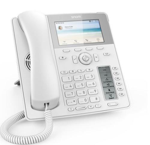 Snom D785 VOIP Desk Phone White (80-S006-01)